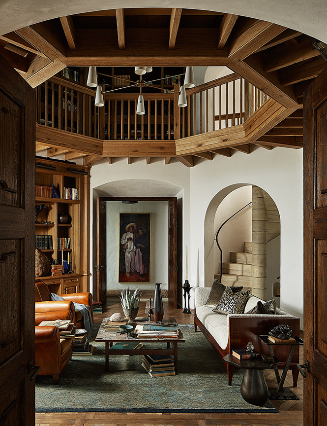 The Great Indoors of a Texas Ranch